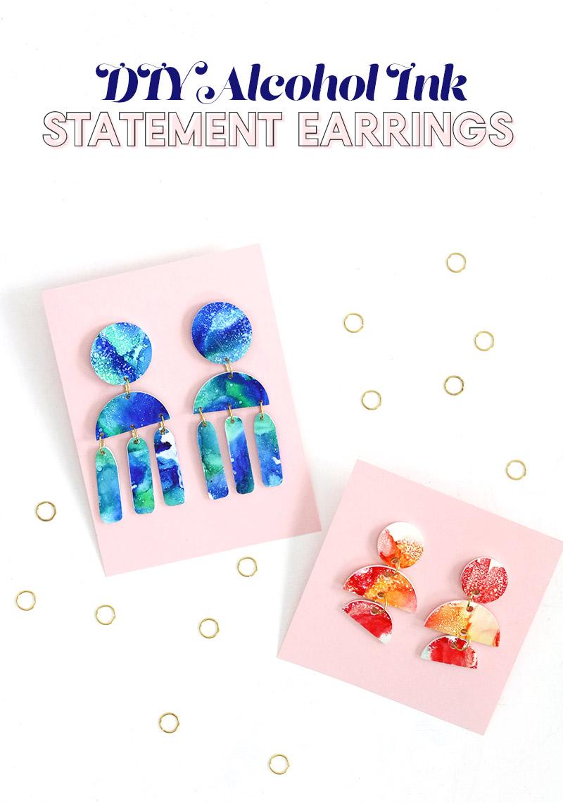 shrinky dink earrings header