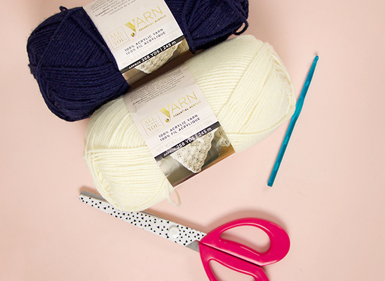 slouch shell crochet beanie supplies