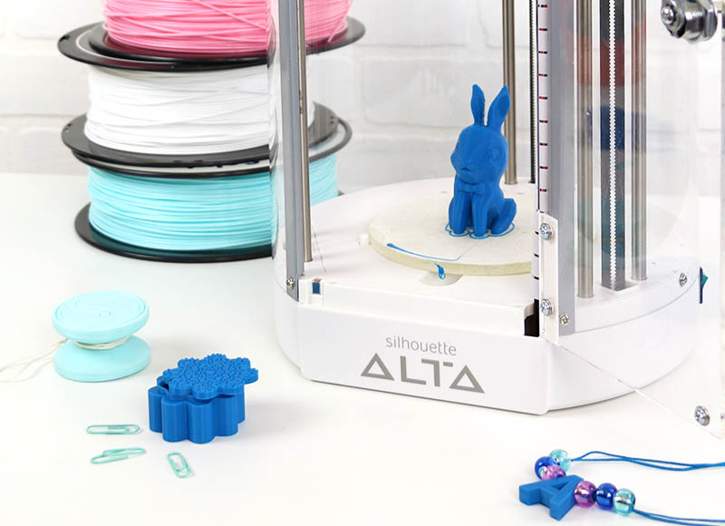 bunny 3d print silhouette alta