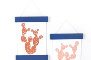 DIY Magnetic Print Hanger with Gorilla Glue Brush Nozzle + Giveaway!