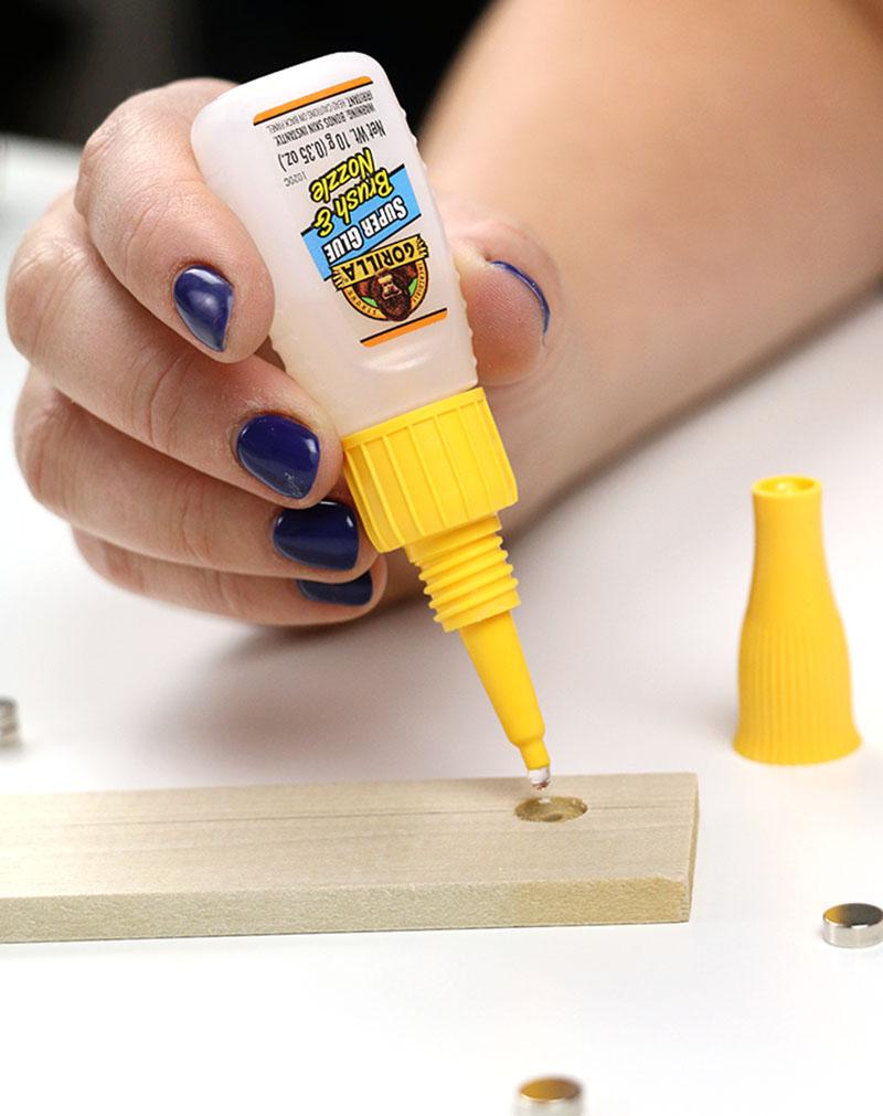 gorilla glue nozzle application