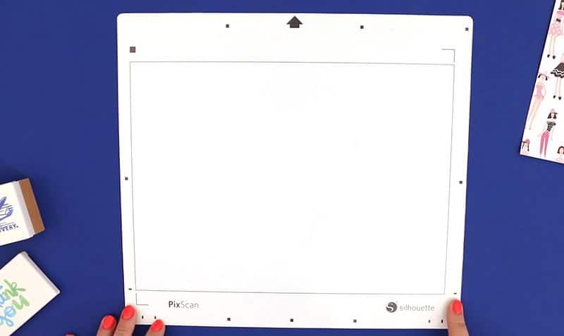 silhouette pixscan mat