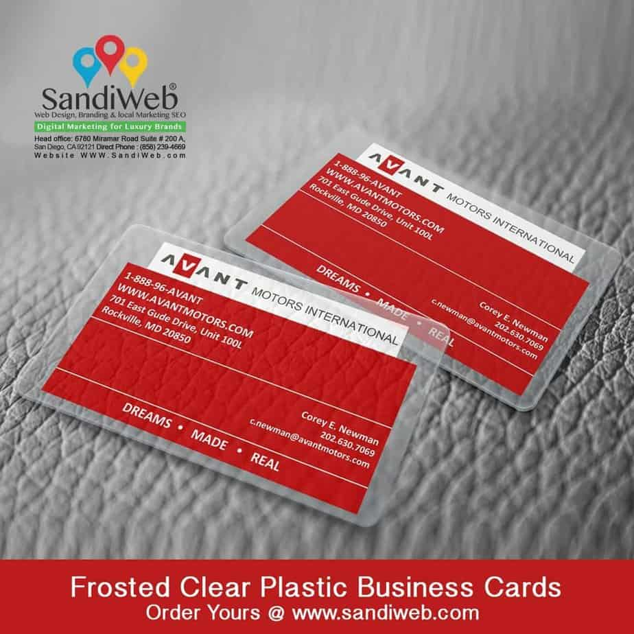 Frosted-Plastic-Business-Card