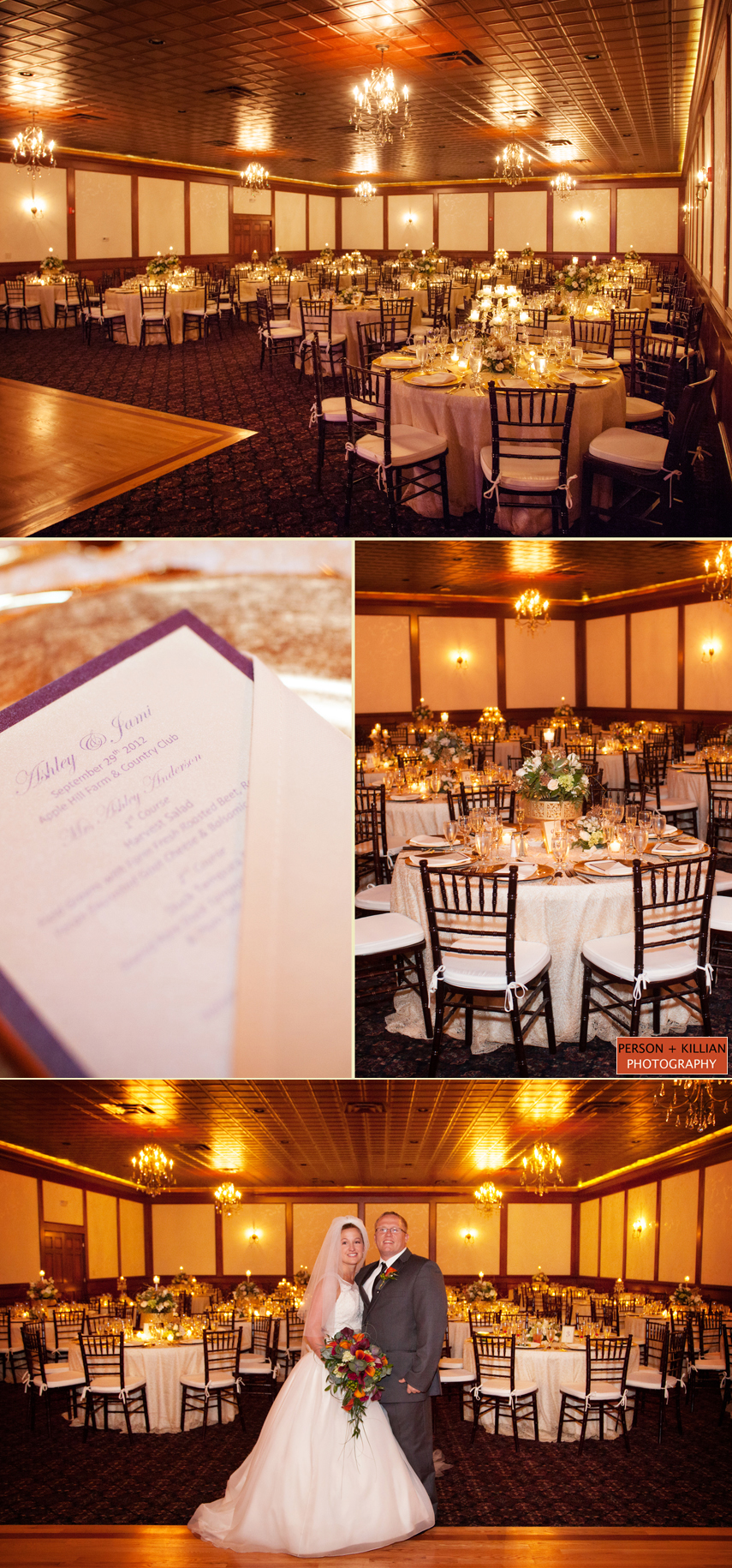 Rustic Country Wedding At The Apple Hill Farm And Country Club
