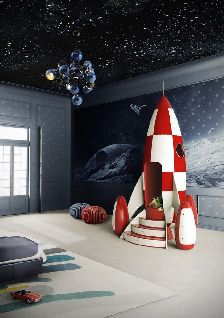 Amazing Furniture for Kids  the Rocket Chair   Petit   Small Amazing Furniture for Kids  the Rocket Chair