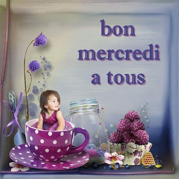 Bon Mercredi Fleur