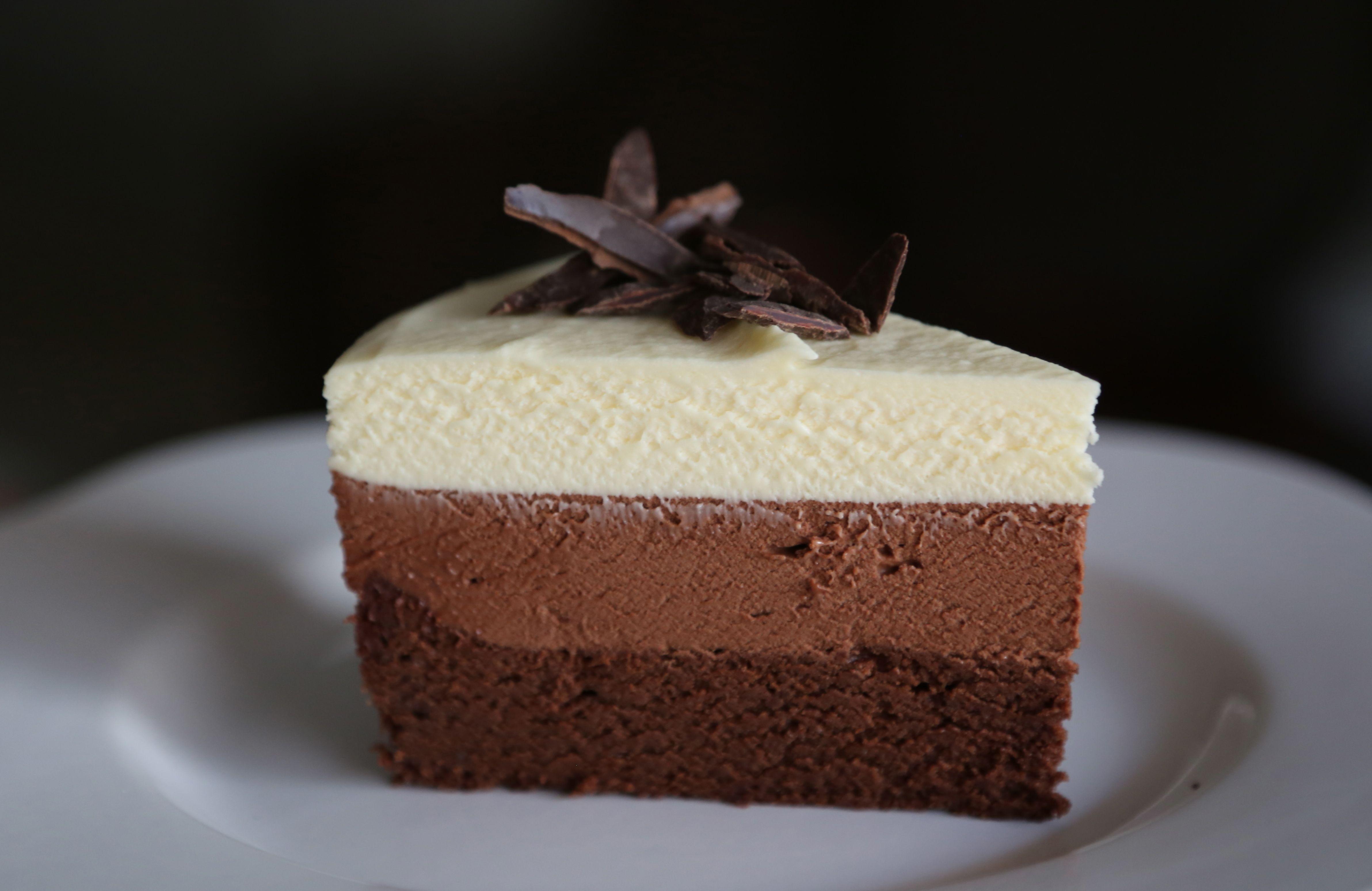 Triple Chocolate Mousse Cake Recipe Dishmaps