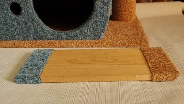 Para preservar a aparência harmoniosa do último detalhe de nossa casa, você também deve decorá-lo com o pano que usamos