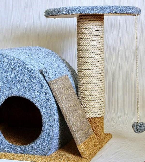 O que um lodge de gato pronto é parecido com a instrução №1