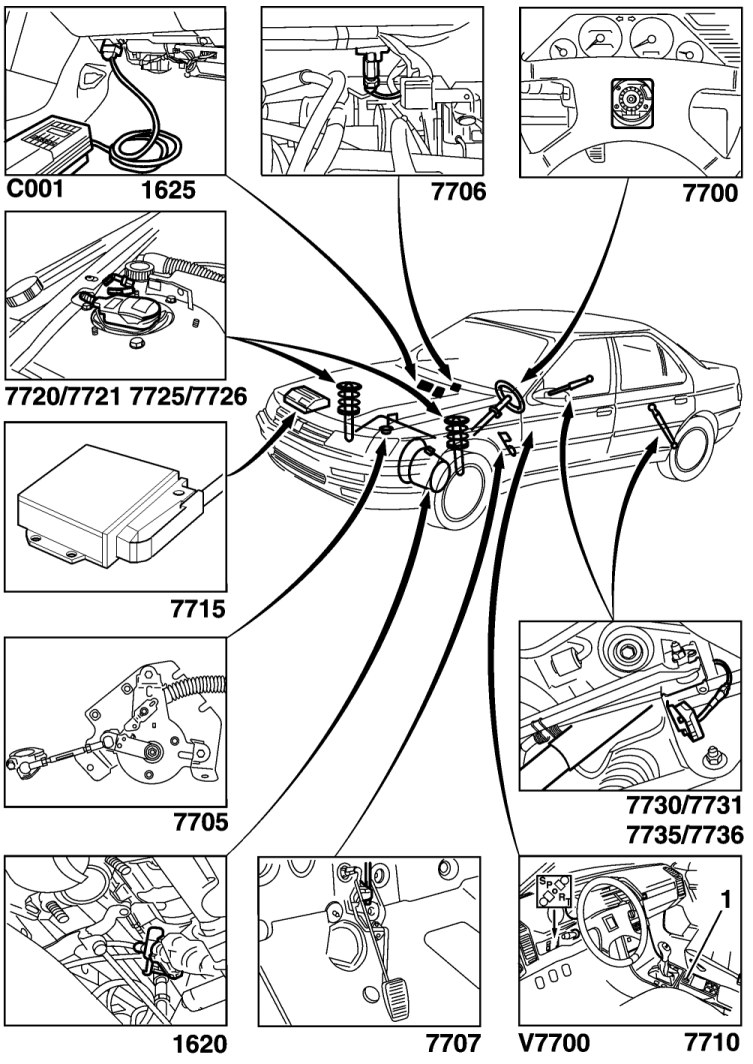 Peugeot 607 Abs Wiring Diagram