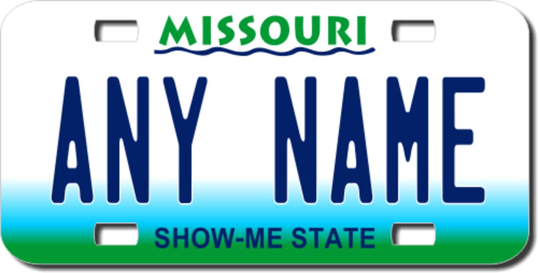 Image result for police license plate missouri
