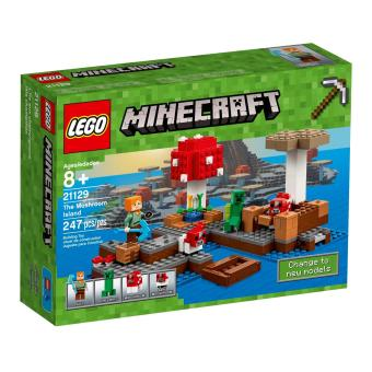 Sell Lego Minecraft The Mushroom Island Today   Review Prices Updates LEGO Minecraft The Mushroom Island
