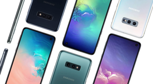 Official Samsung Galaxy S10e Press Renders Show Off The