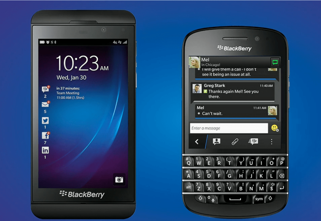 Blackberry 10 Devices 2013