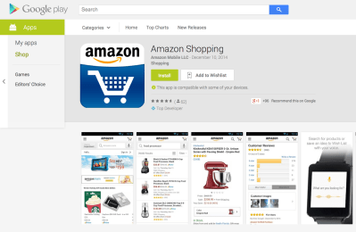 Amazon app pulled from Google Play over policy violation ...