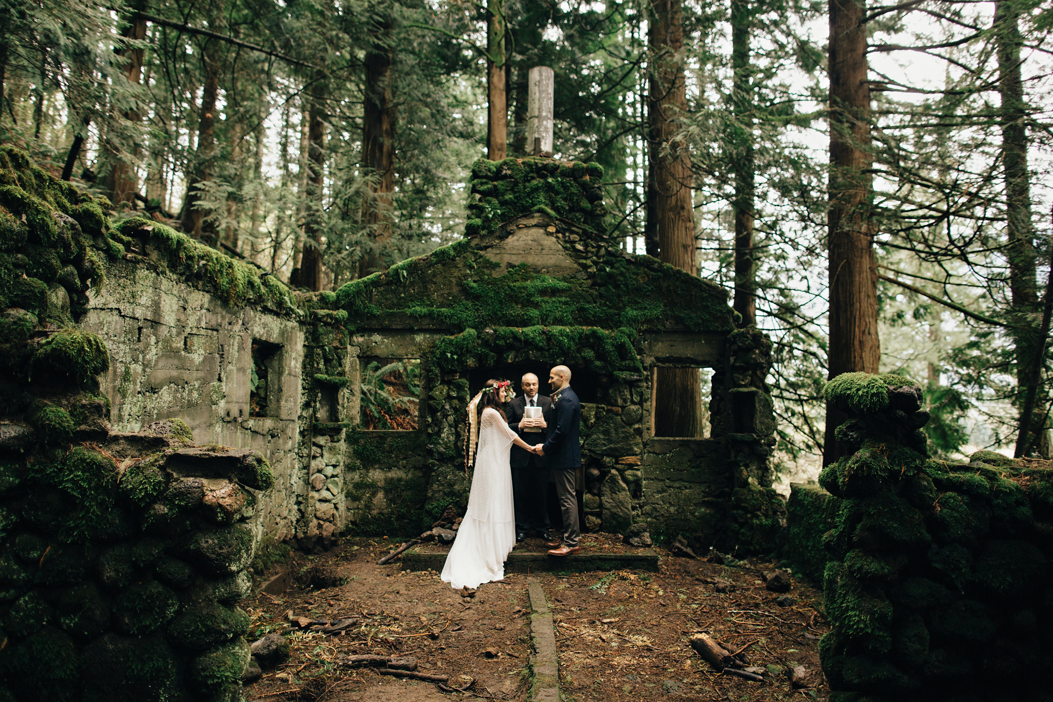 Small Wedding Portland Elopement Photos