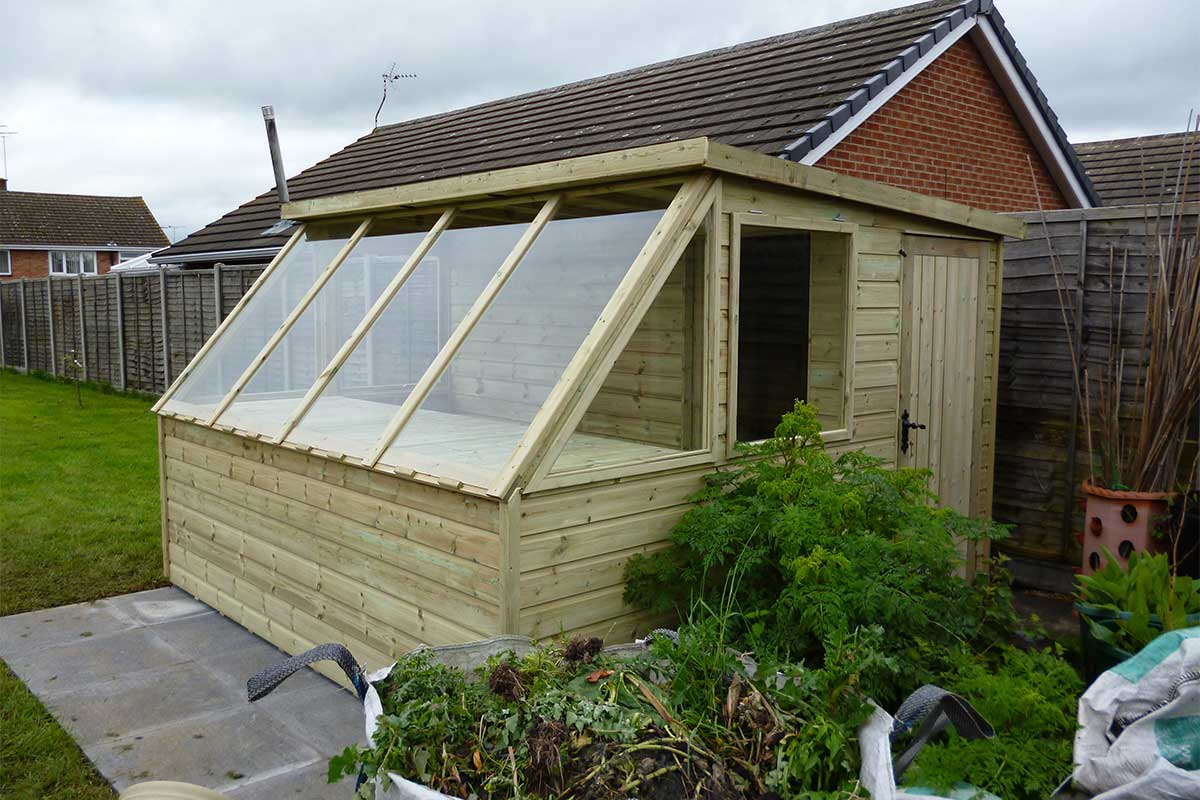 And Sheds Buildings Garden