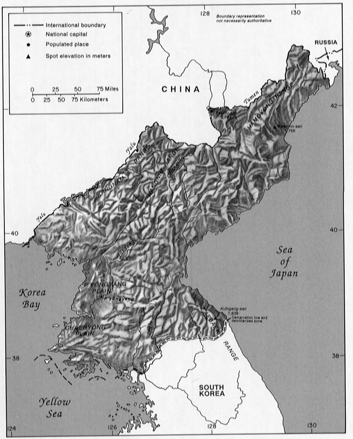 North Korea Climate And Land