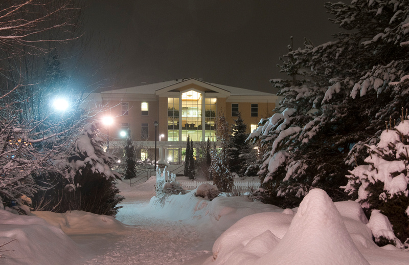 Byu Idaho Winter Scenes Campus Winter Hinckley