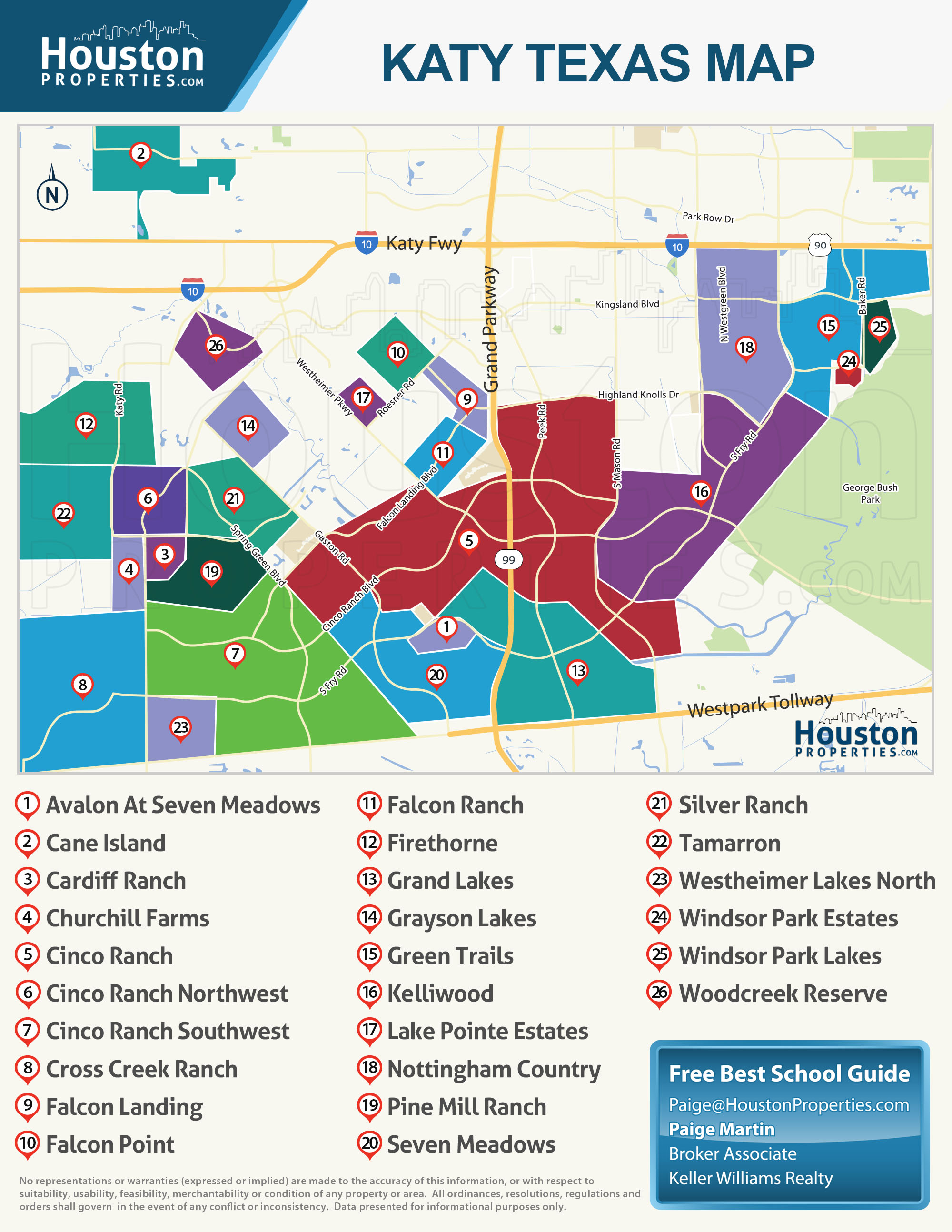 Map Texas School Zones