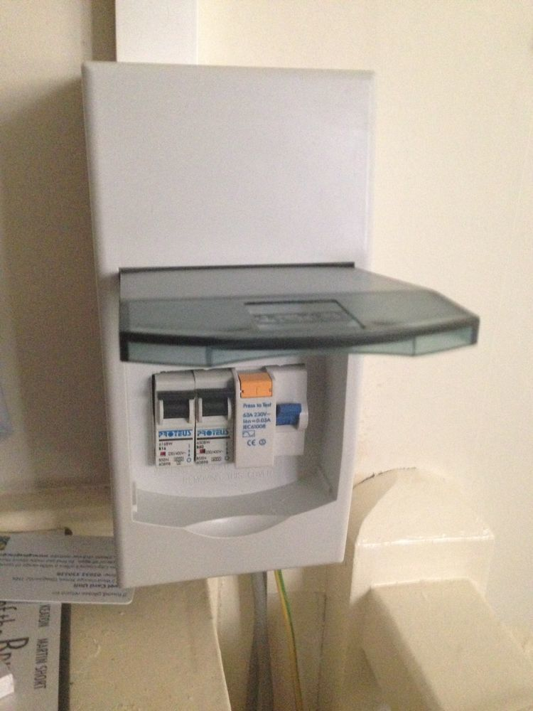 Change Fuse Box And Supply And Fit 2 New Storage Heater