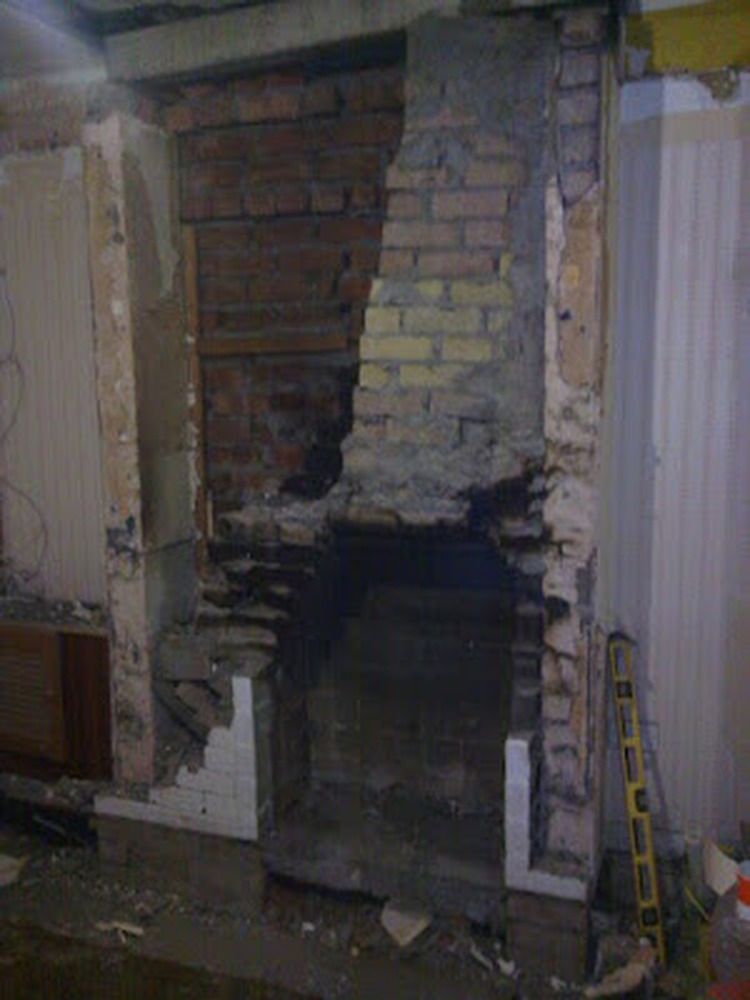Rebuild Chimney Breast Chimneys Amp Fireplaces Job In