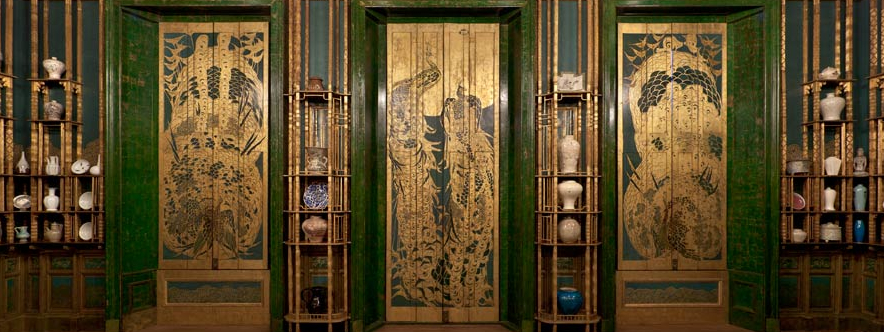 Story Of The Beautiful The Peacock Room At The Freer