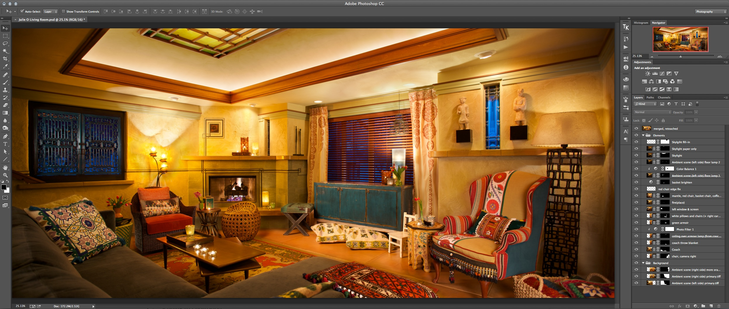 When Aperture Isn t Enough  aka   Anatomy of an Interior Design     The final composite  in Photoshop CC