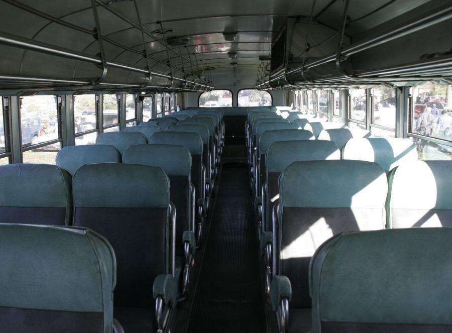 Greyhound Bus Interior Photos