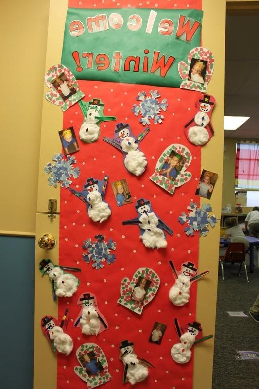 Christmas Door Decorating Contests Photos