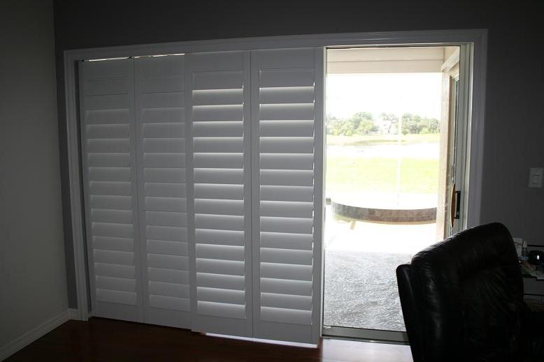 Sliding Patio Door Window Treatments Photos