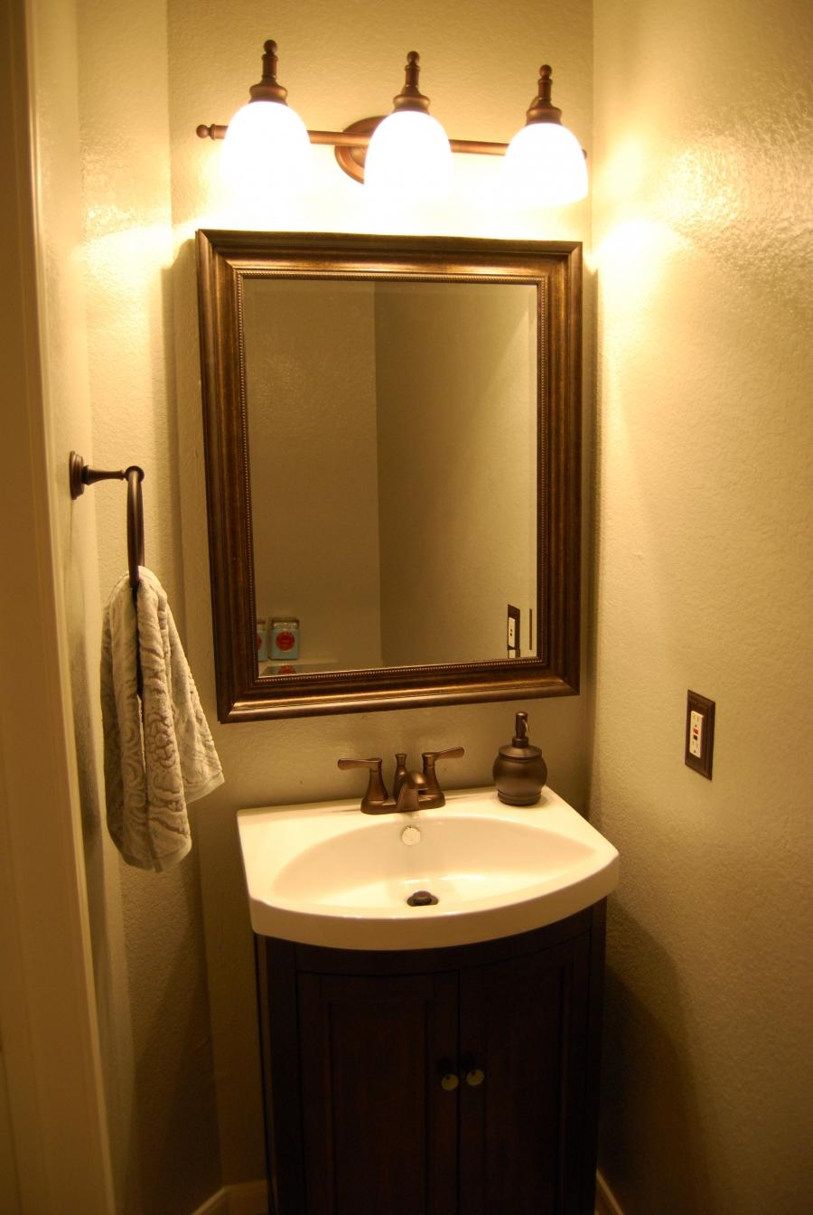 Powder Room Lighting Photos