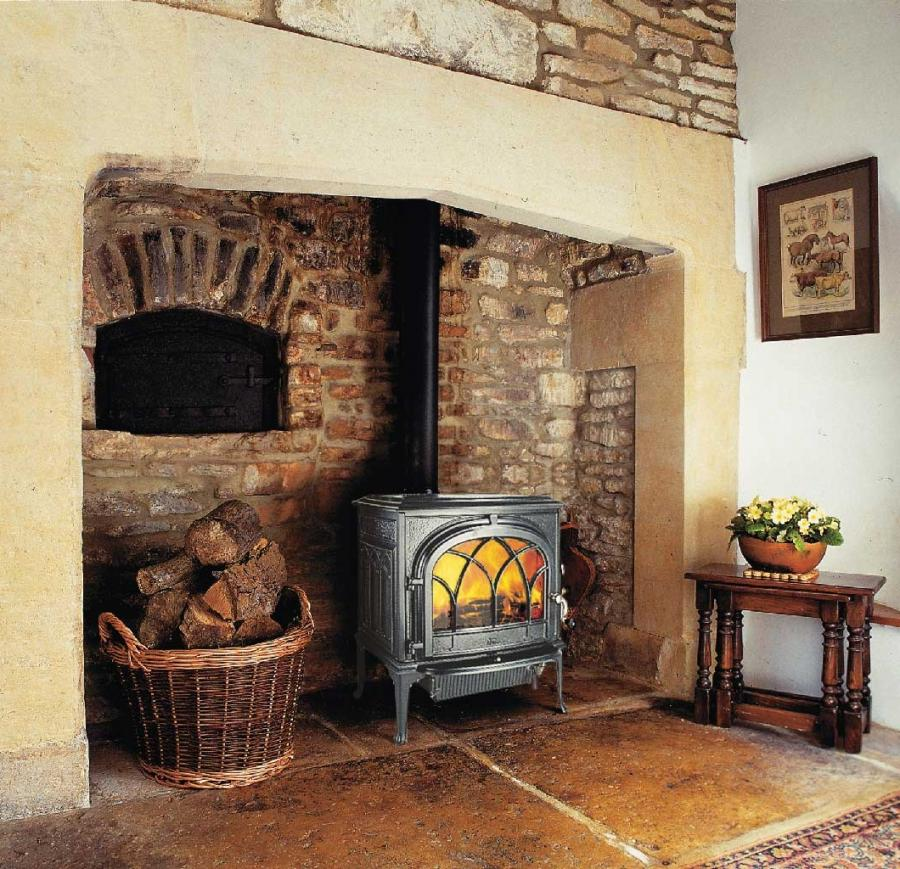 Wood Burning Fireplace Design Photos