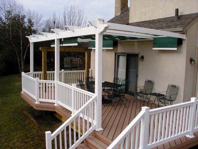 Decks With Pergolas Photo Gallery