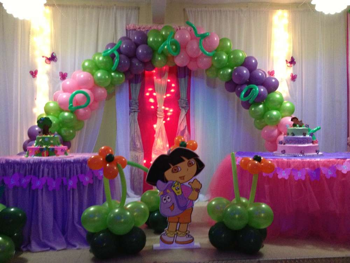 Dora The Explorer Birthday Party Ideas Photo 4 Of 6