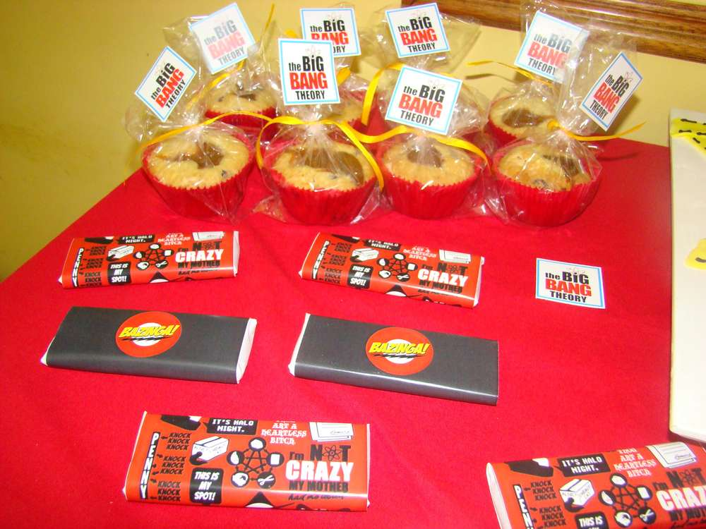 The Big Bang Theory Birthday Party Ideas Photo 1 Of 11