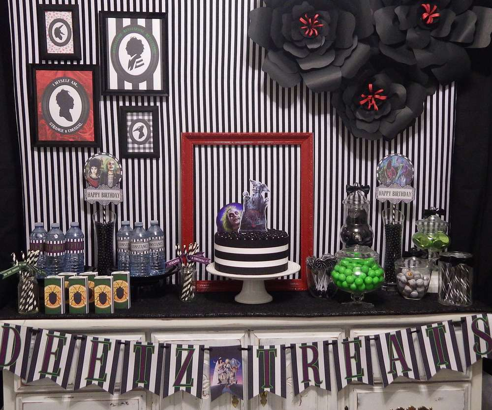 Beetlejuice Birthday Party Ideas Photo 1 Of 35 Catch