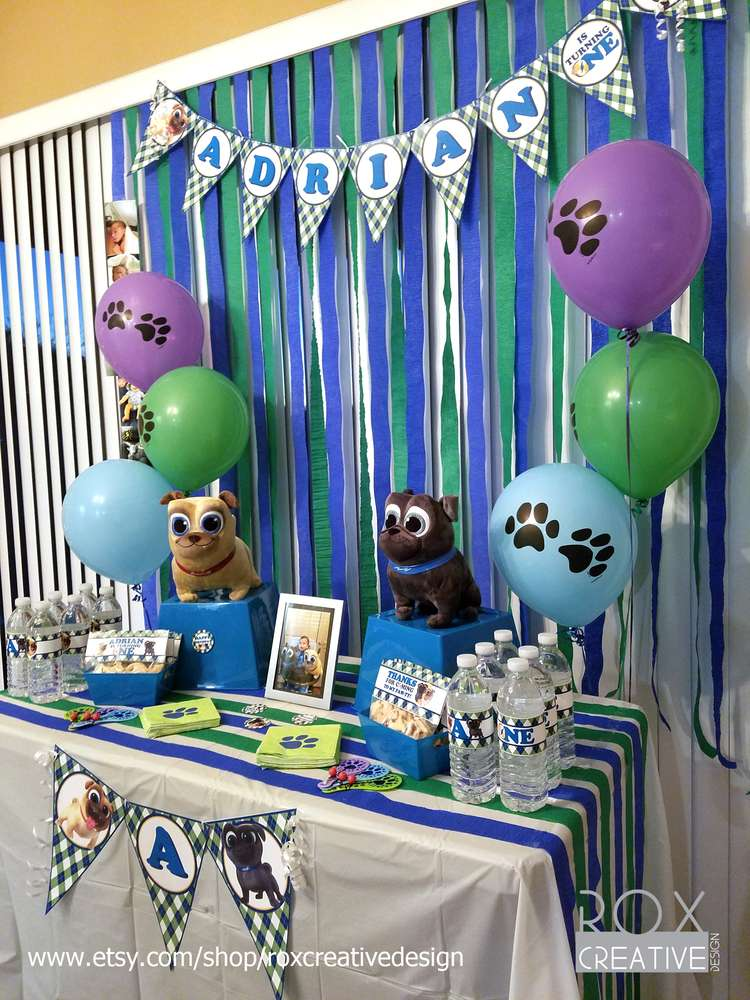Disney Puppy Dog Pals Birthday Supplies
