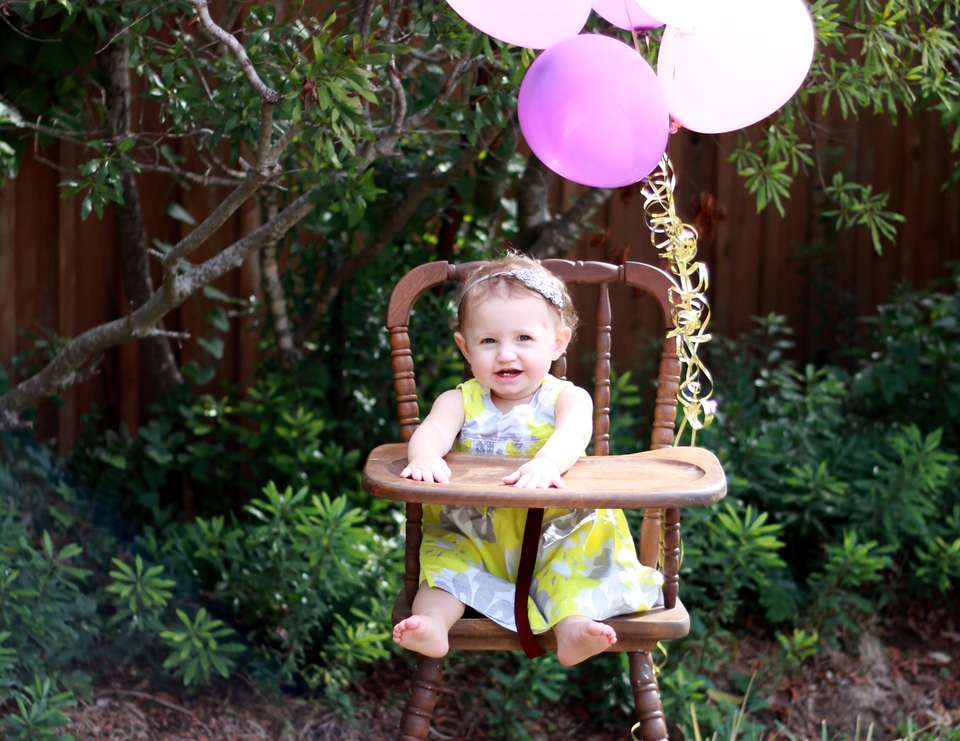 Balloons Birthday Quot First Birthday Balloons Quot Catch My Party