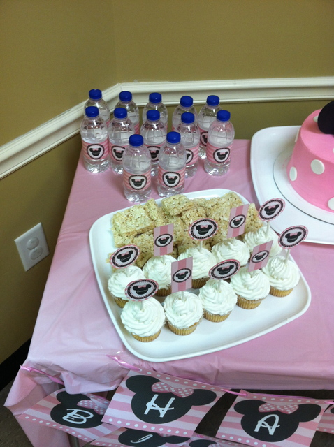 Minnie Mouse Birthday Party Ideas Photo 3 Of 21 Catch