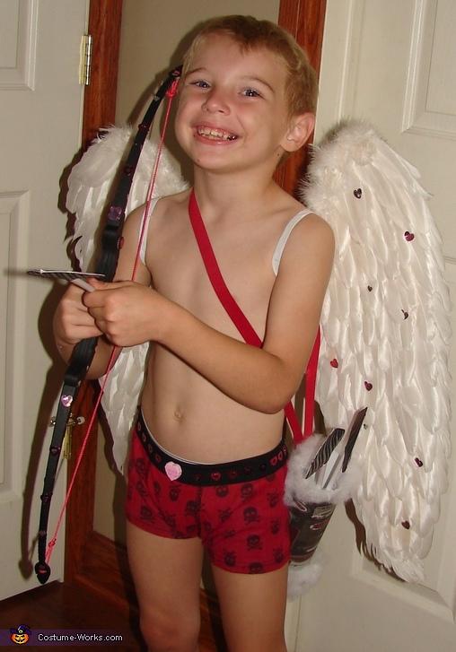 Homemade Cupid Costume Photo 6 10