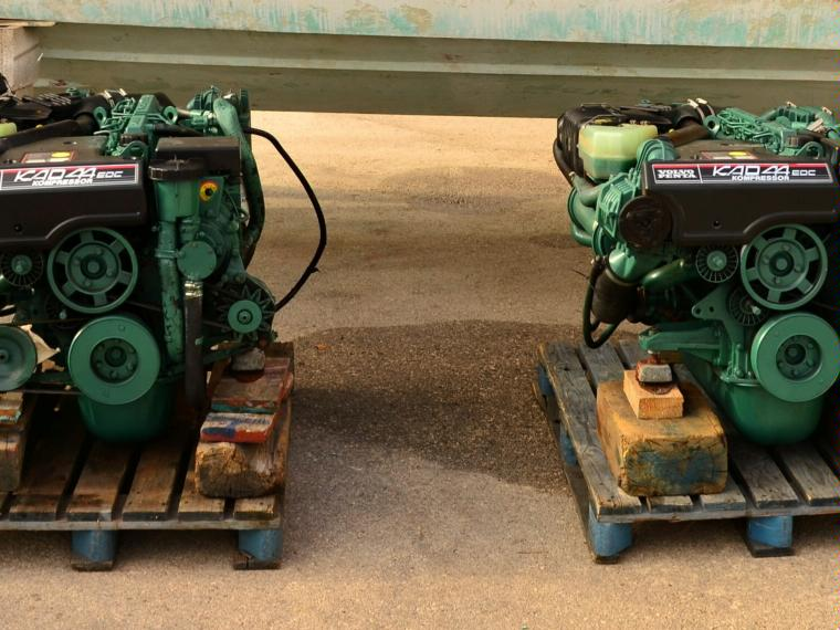 Motores Volvo Penta Kad 44 260 Cv Second Hand 48666 Inautia