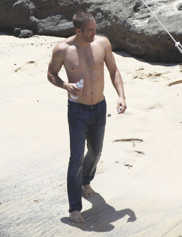 Paul Walker Shoots Davidoff Ad In Hawaii Lainey Gossip
