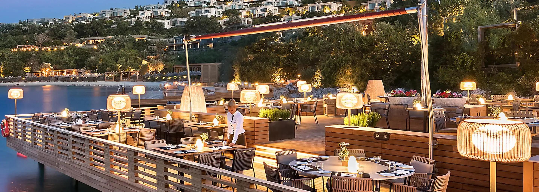 Best Restaurants Bars Amp Lounges Mandarin Oriental Bodrum