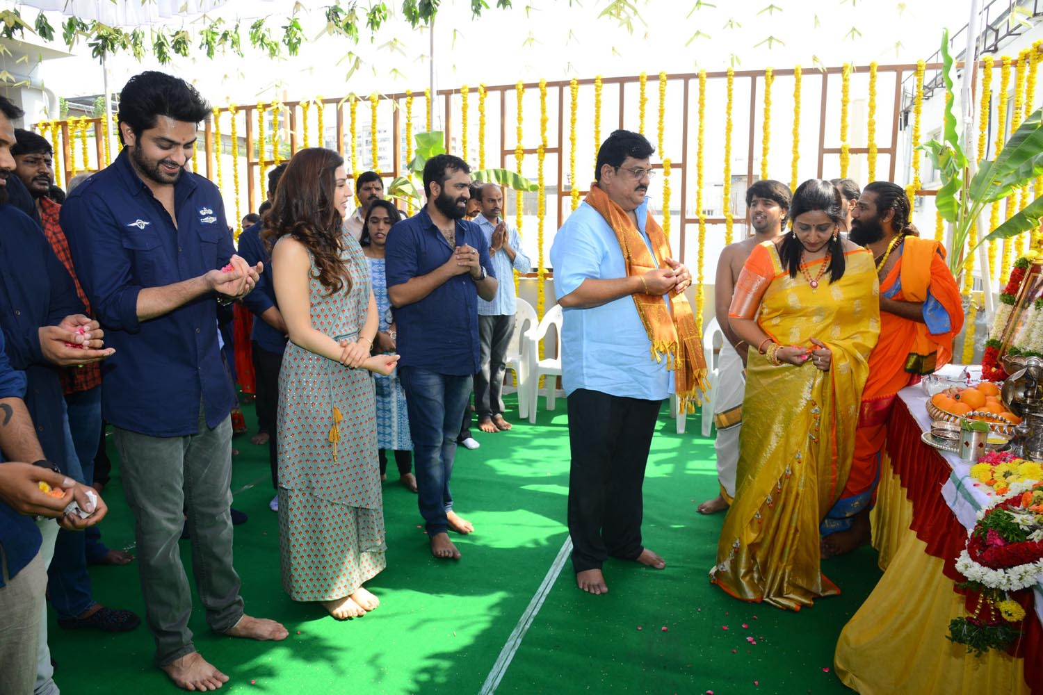 Naga Shourya Mehreen Movie