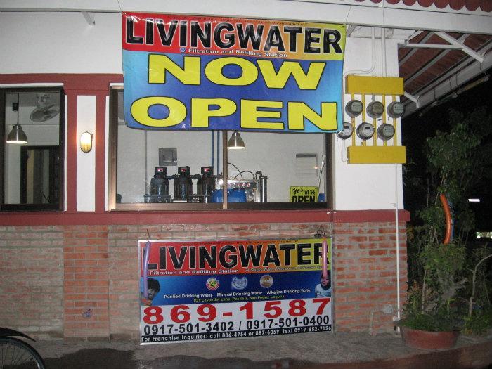 Livingwater Filtration And Refilling Station Egm