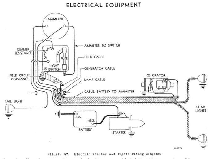 1952 Ferguson Tractor Wiring