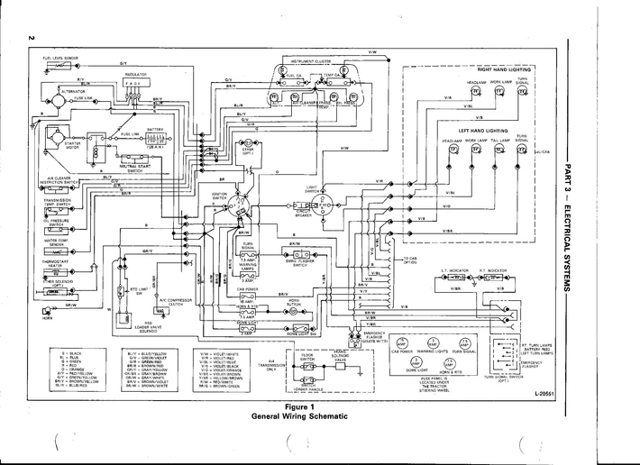 Ford 555d Wiring Diagram  New Holland Ford 455d 555d 655d