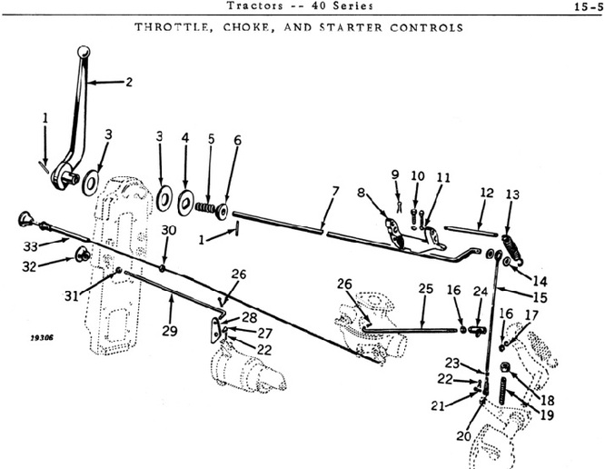 Gilson Tractor Diagram Parts
