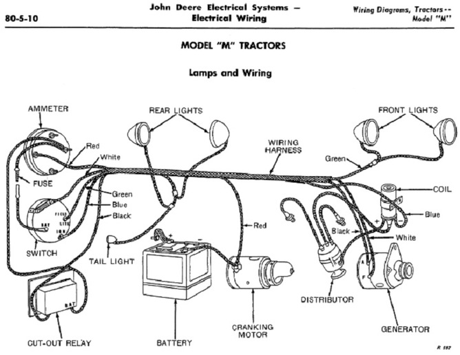 oliver 70 wiring diagram
